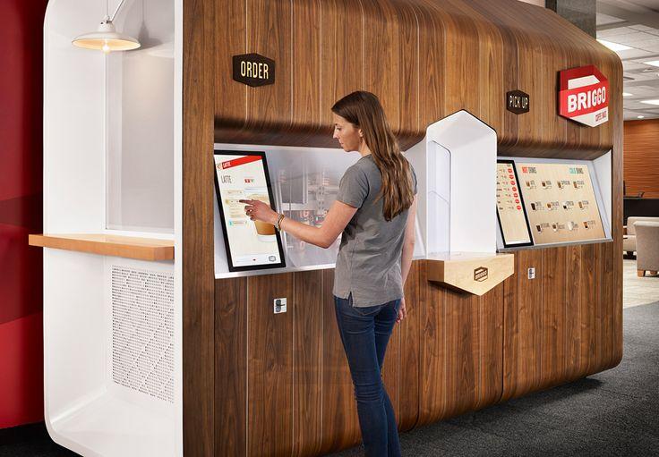Разработан интерактивный кофейный автомат Coffee Haus с дистанционным заказом напитков